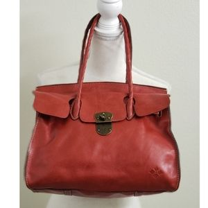 PATRICIA NASH - Red Genuine Leather Handbag